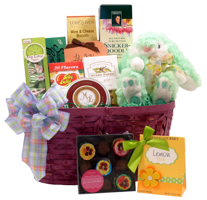 Easter gift guide easter baskets and gifts for spring thoughtful easter gourmet gift basket negle Gallery