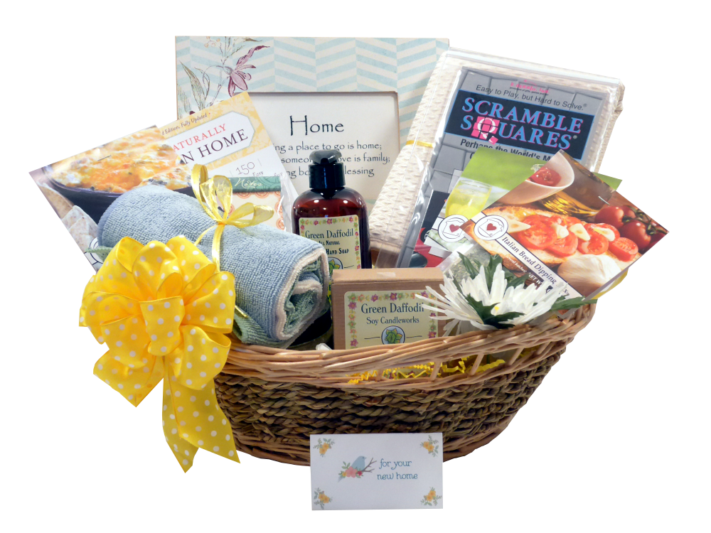 Housewarming gift idea new home gift basket thoughtful for The best housewarming gift
