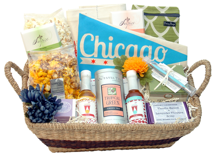The result was very well received and I began planning to add more Chicago crafted products to my overall gift basket collection.