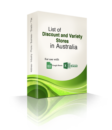 List of Discount and Variety Stores Database