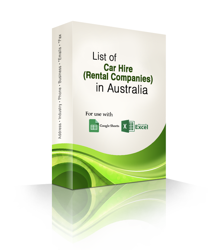 List To Rent: List Of Car Hire (Rental Companies) In Australia