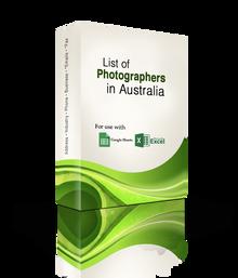 List of Photographers Database