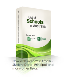 Schools Database with Emails
