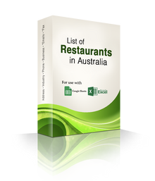 List of Restaurants Database