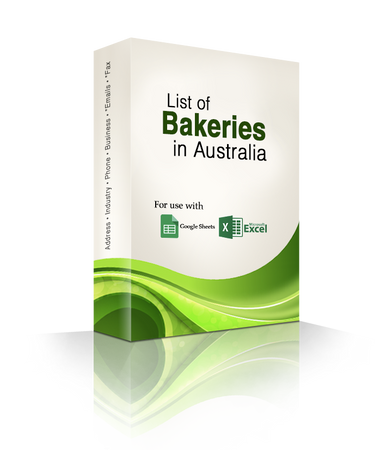 List of Bakeries Database