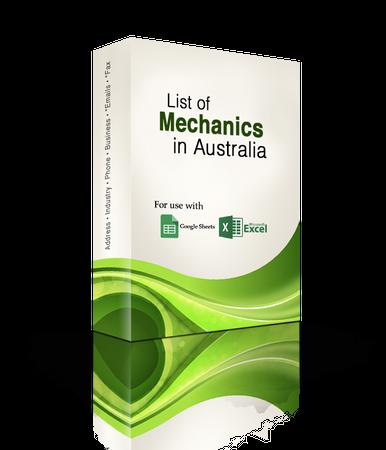 List of Mechanics Database
