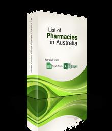 List of Pharmacies Database