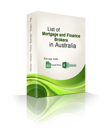 List of Mortgage and Finance Brokers Database