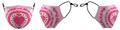 Prolook Pink Tie Dye Mask