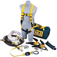 DBI-SALA Roofer's Fall Protection Kit - Horizontal Lifeline System - 7611904