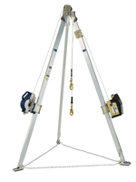 DBI-SALA 50 ft. Ultra-Lok 3-Way 9 ft. Tripod Combo With 60 ft. Winch - 8301068