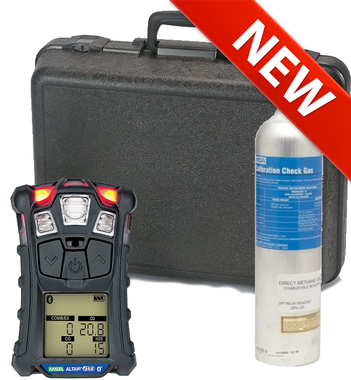 Msa Altair 4xr Multigas Detector Kit Lel O2 Co H2s