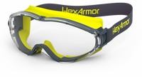 HexArmor LT300 TruShield Clear Safety Goggles - 4/Pair