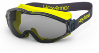 HexArmor LT300 TruShield Gray Safety Goggles - 4/Pair