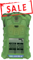 MSA ALTAIR 4XR Multigas Detector w/Glow In The Dark Case [LEL, O2, Co, H2S] - 10178558