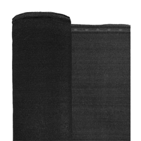 "Black Privacy Fence Netting - 7'8"" x 150'"