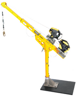 "Xtirpa™ 30""-48"" Reach Adapter Base Complete Confined Space Entry System w/ MSA Workman 50' SRL"