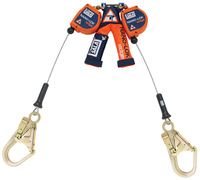 Copy of DBI-SALA 8  ft. Nano-Lok edge Twin-Leg Quick Connect Self Retracting Lifeline - Cable - 3500246