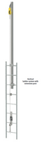 MSA Latchways Extension Post Vertical Ladder System Lifeline Kits