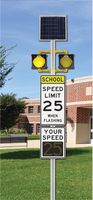 Speed Limit Xx When Flashing  - FLC103