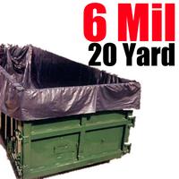 6 Mil 20 Yard Dumpster Liner