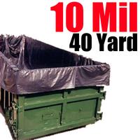 10 Mil 40 Yard Dumpster Liner