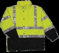 ML Kishgo Storm Stopper Pro Lime Rainwear