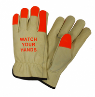 Keystone Thumb Select Grain Cowhide Driver Gloves 990KOT