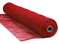 "Red Flame Retardant 1/4"" Mesh Debris Netting - 4' x 150'"