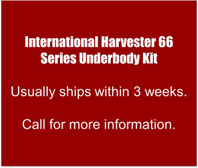 International Harvester 66 Series Lower cab Kit