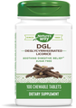 Nature's Way (Enzymatic Therapy) DGL Lozenges (Fructose-Free) - 100 chewable tablets