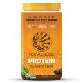 Sun Warrior Chocolate Classic PLUS Protein Powder (Raw, Vegan) - 750 g / 1.65 lbs