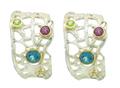 Sea Fan Post Earrings