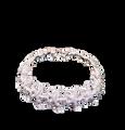 Sterling Silver Starfish Link Bracelet
