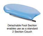 Fusion GYNAE Detachable Foot Section Extension (Sun-FGYNFS)