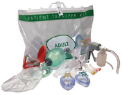 Buy PRO-Breathe Patient Transfer Kit, Adult Standard with Suction.  Incl. BVM: 1500ml, Masks: 4, 6, Guedels: 4, 5, 6, Oxygen Mask: Adult High Concentration (PTK1561X) sold by eSuppliesMedical.co.uk