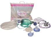 Buy PRO-Breathe Patient Transfer Kit, Paed Standard with Suction.  Incl. BVM: 500ml, Masks: 1, 2, Guedels: 0, 1, 2, Oxygen Mask: Paed High Concentration (PTK3222X) sold by eSuppliesMedical.co.uk