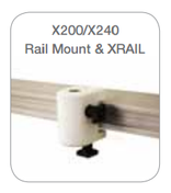 Daray Examination Lamp Rail 1m Length - Including Fixings (XRAIL)