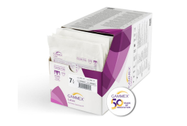 Ansell GAMMEX Latex Advanced Powder-free Gloves for General Surgery, Size 8.5, Pack of 50 Pairs (330048085)