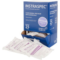 Buy Instraspec Disposable Vaginal Speculum with Lock, Medium, Box of 25 (8101mb) sold by eSuppliesMedical.co.uk