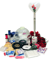 The ST-5 Keepsake Stuffer kit comes with everything the beginner needs to start a Balloon Stuffing business