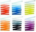 RIZUMI Ribbon 5metre (Gradual-White to Colour)