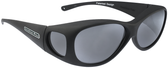 Jonathan Paul® Fitovers Eyewear Medium Lotus in Matte-Black & Gray LS001