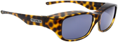 Jonathan Paul® Fitovers Eyewear Medium Queeda in Cheetah & Gray QS003