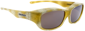 Jonathan Paul® Fitovers Eyewear Medium Queeda in Ivory-Tusk & Amber QS006A