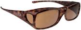 Jonathan Paul® Fitovers Eyewear Large Aria in Tortoise & Amber AA002A