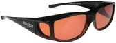 Jonathan Paul® Fitovers Eyewear Large Jett in Black-Fade & Roadster JT001R