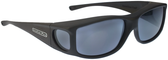 Jonathan Paul® Fitovers Eyewear Large Jett in Matte-Black & Gray JT001