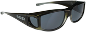 Jonathan Paul® Fitovers Eyewear Large Jett in Olive-Charcoal & Gray JT005
