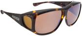 Jonathan Paul® Fitovers Eyewear X-Large Aviator in Tortoise & Amber AV002A